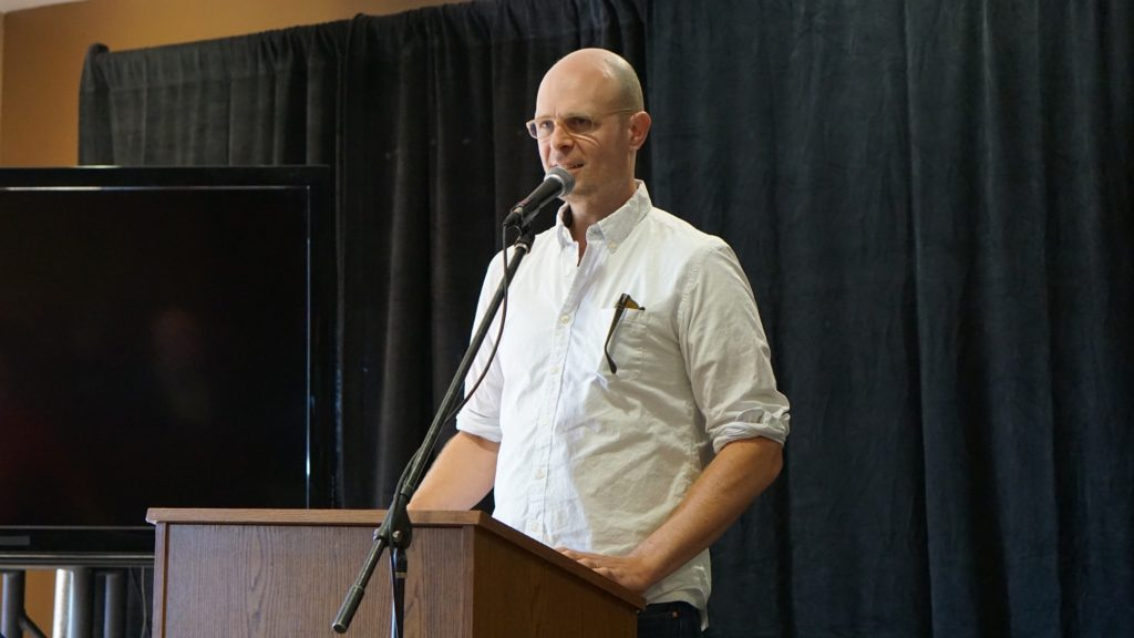 Creston Lea at the Fretboard Summit. Photo: Brian K. Saunders